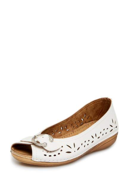 Туфли женские T.Taccardi 710018088 белые 37 RU