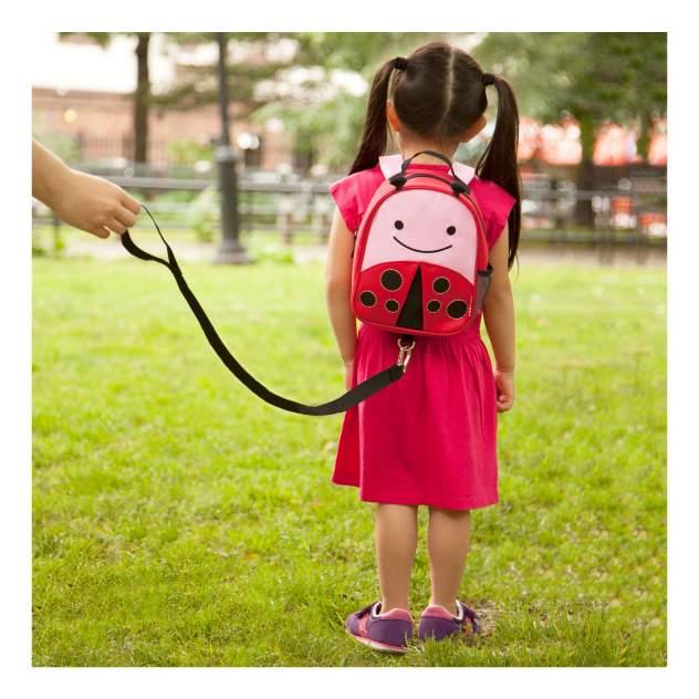 Рюкзак детский Skip Hop с поводком Божья коровка SH 212210