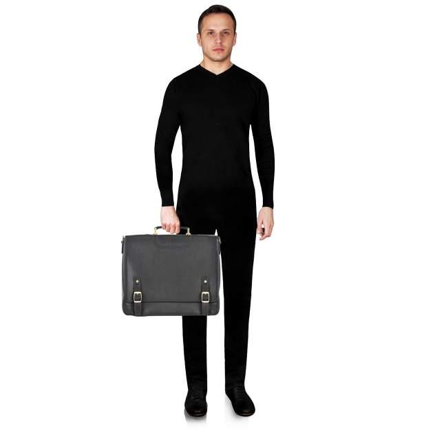 Портфель мужской кожаный Dr. Koffer B402614-220-09 коричневый