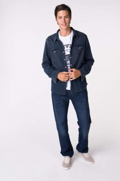 Рубашка мужская Levi's 6581602770 синяя XL
