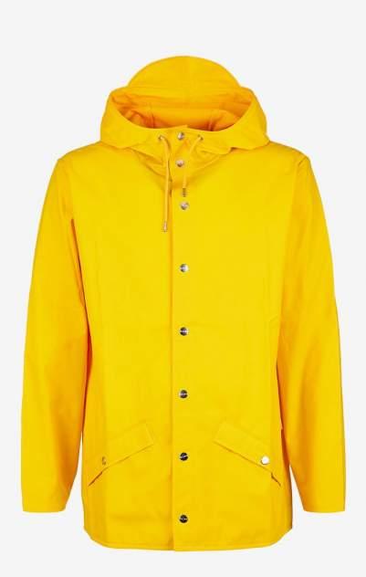 Мужской плащ Rains 1201, желтый