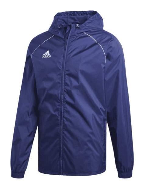 Куртка Adidas Core 18 Rain Jacket, dark blue/white, L