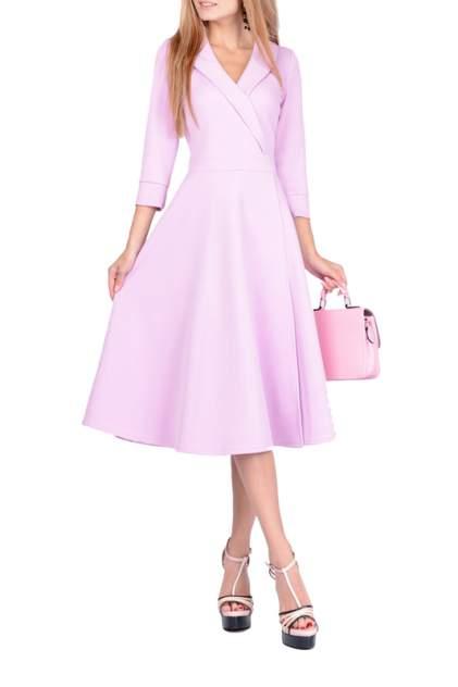 Платье женское FRANCESCA LUCINI F0729-5 фиолетовое 46 RU
