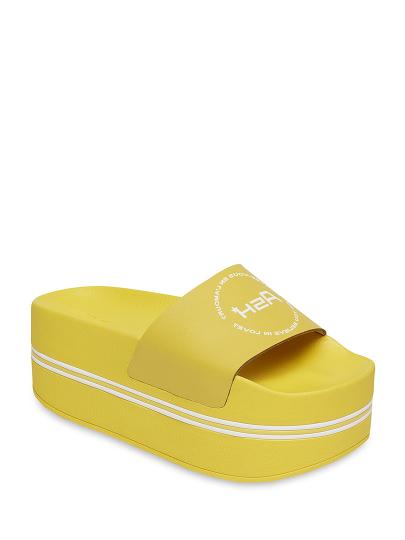 Сабо женские Ash 75772 желтые 39 RU