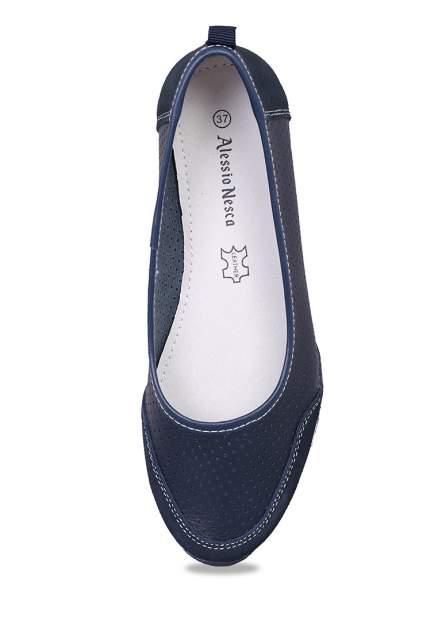 Балетки женские Alessio Nesca SH8005A синие 39 RU