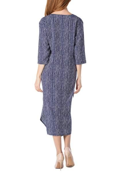 Платье женское Adzhedo 41726 синее 5XL RU