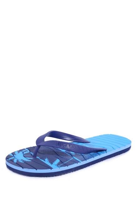 Шлепанцы мужские T.Taccardi 03106210 синие 41 RU