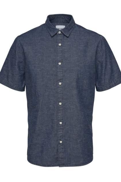 Рубашка мужская ONLY & SONS 22013274 синяя XS