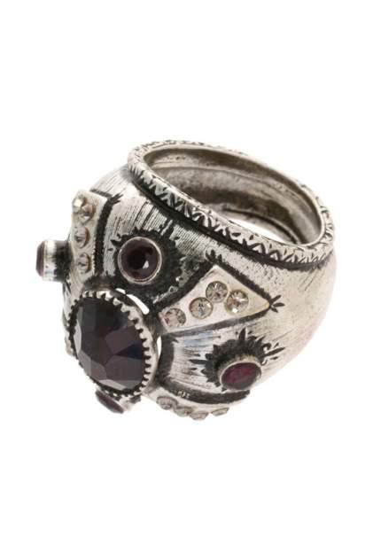 Кольцо женское Maurizio Mori AN04709 серебристое/бордовое р.16