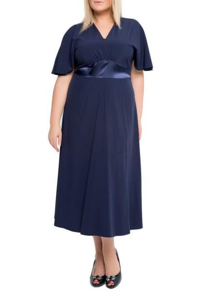 Платье женское KR 1503 синее 56 RU