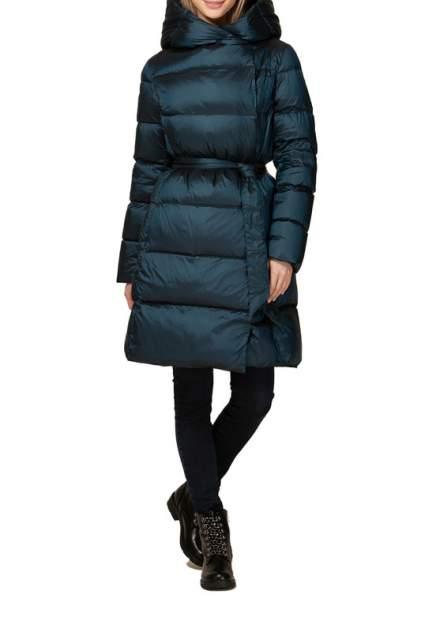 Пуховик-пальто женский Conso WEM 190514 - TEAL зеленый 40 RU