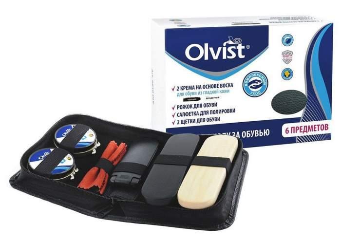 Подарочный набор по уходу за обувью Olvist на 23 Февраля