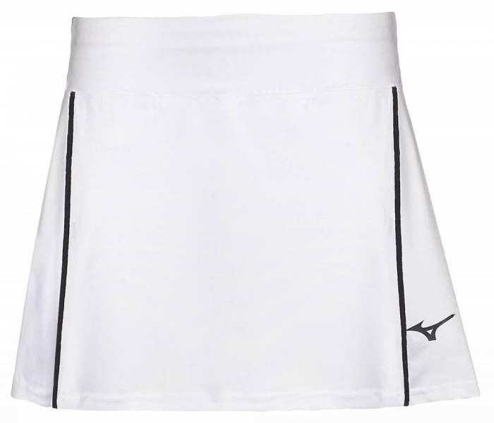 Женская юбка Mizuno Hex Rect Skort, белый