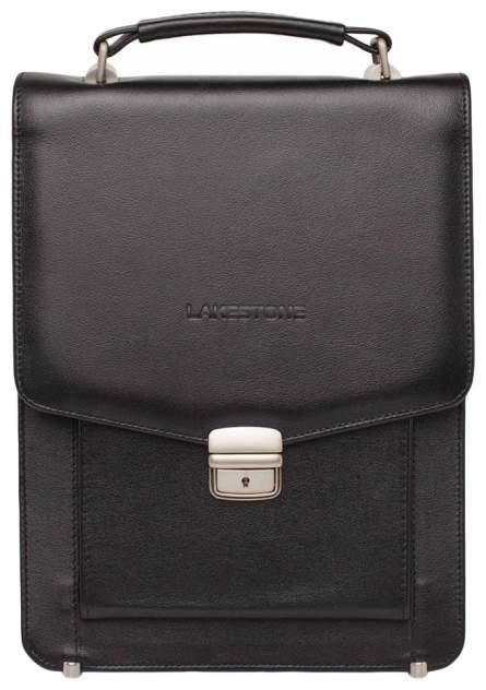 Портфель мужской кожаный Lakestone Dormer 943002/BL черный