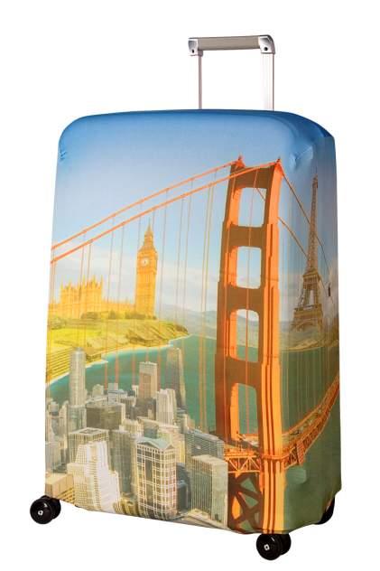 Чехол для чемодана Routemark Citizen SP240 желтый L/XL