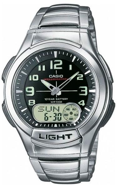 Наручные часы кварцевые мужские Casio Collection AQ-180WD-1B