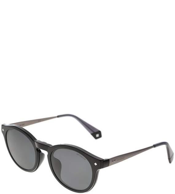 Солнцезащитные очки унисекс Polaroid PLD 6081/G/CS 08A M9, черный