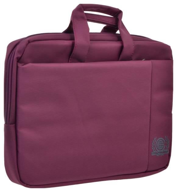 "Сумка для ноутбука 15.6"" Continent CC-215 пурпурная"