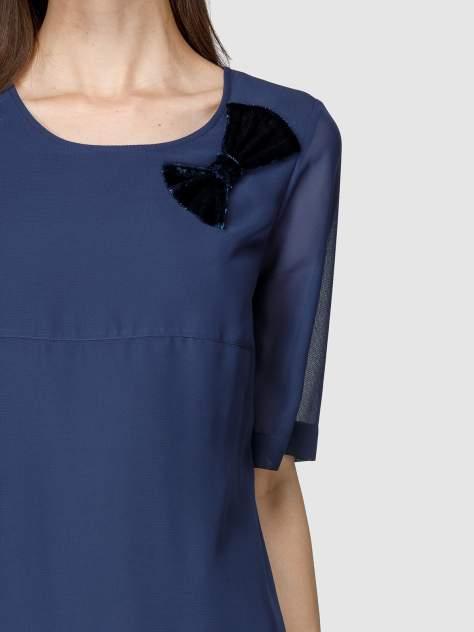 Платье женское Helmidge 7875 синее 26 UK