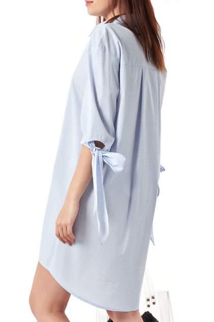 Платье женское Fly 889-10 голубое 46 RU