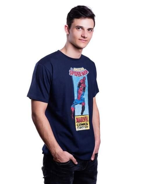 Футболка Good Loot Marvel Spiderman Comics синяя XS