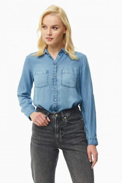 Рубашка женская TOM TAILOR 1016200-10110 синяя 34 DE