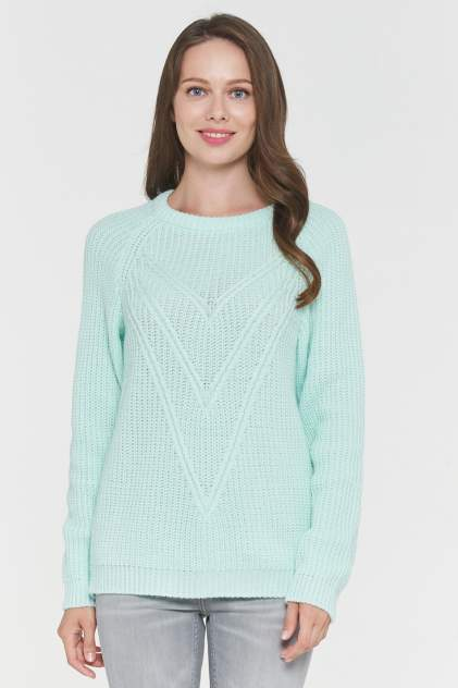 Джемпер женский VAY 192-4967 зеленый 50 RU