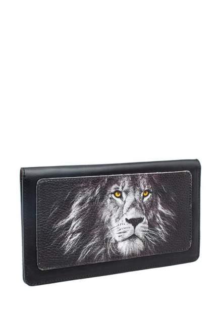 Тревел конверт с принтом Eshemoda 110025204434 Серебрянный лев