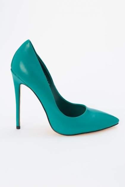 Туфли женские Ennergiia D507-B1663 зеленые 37 RU