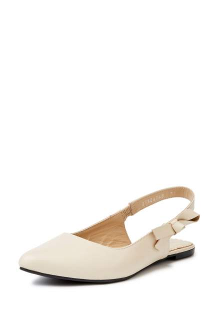 Туфли женские Alessio Nesca 27306760 бежевые 36 RU