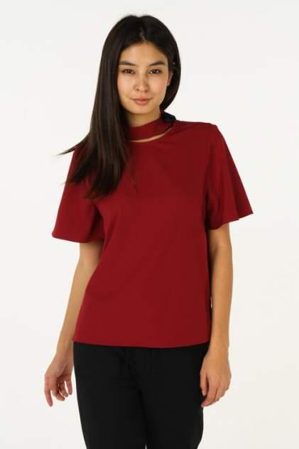 Блуза женская ZARINA 8328129322071 бордовая 42 RU