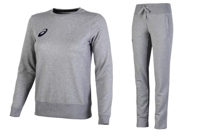 Спортивный костюм Asics Knit, heather grey, L INT