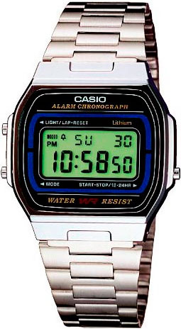Наручные часы электронные мужские Casio Collection A-164WA-1