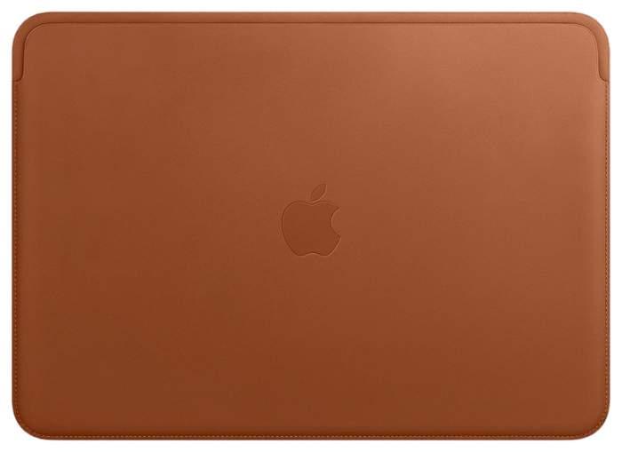 "Чехол для ноутбука 13"" Apple Macbook Pro Leather Saddle Brown"