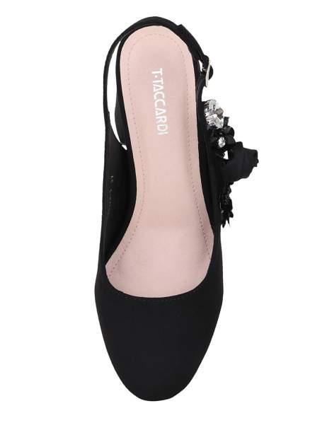 Туфли женские T.Taccardi 710017821 черные 35 RU