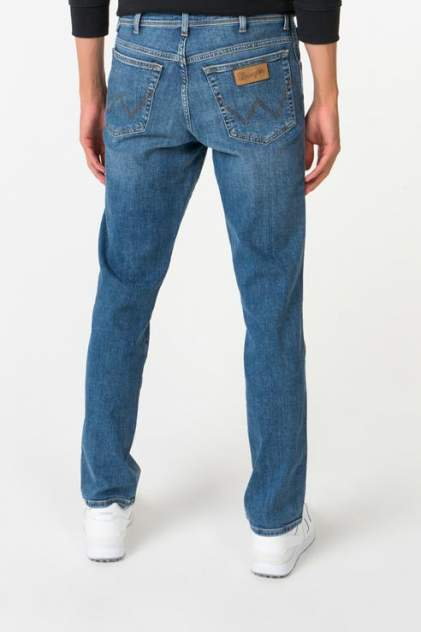 Джинсы мужские Wrangler W1219237X синие 33/34 USA