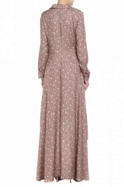 Платье женское Adzhedo 41434 коричневое 4XL
