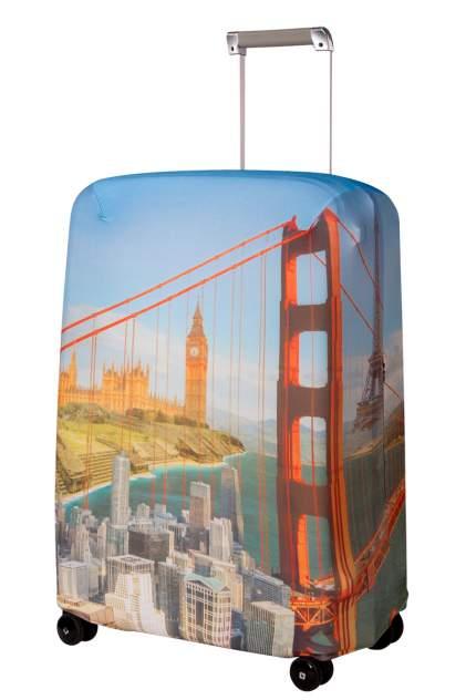 Чехол для чемодана Routemark Citizen SP240 желтый M/L
