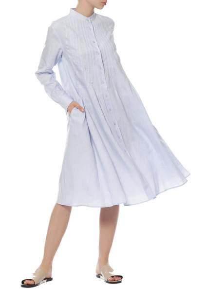 Платье женское Max Mara Weekend 52210271/06 голубое 36 IT