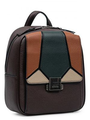 Рюкзак женский ELEGANZZA Z-3002-O коричневый