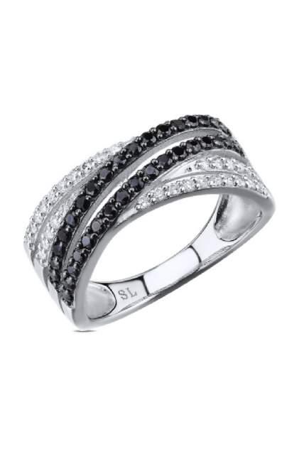 Кольцо женское SUNLIGHT S4076-K9W-01 р.16.5