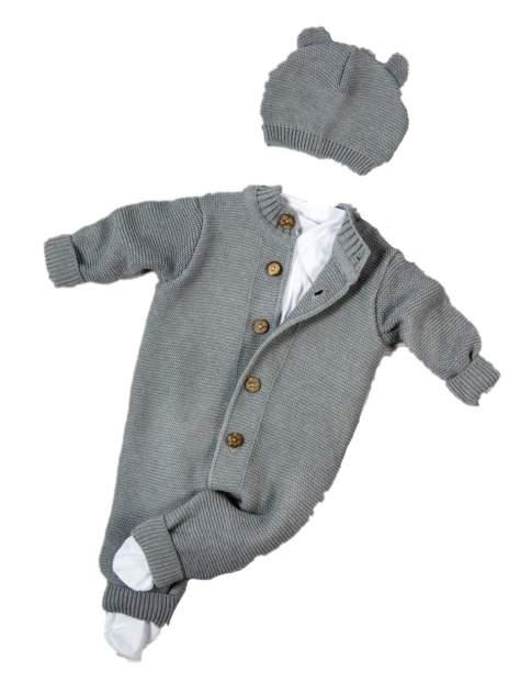 Комплект одежды Amarobaby, цв. серый