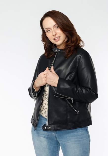 Куртка женская Modis M201W00222S642 черная 3XL
