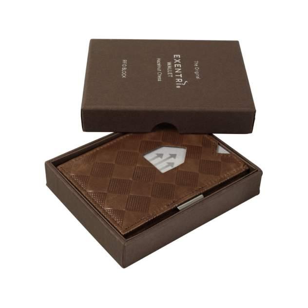 Кошелек Exentri Wallet EX 024 Hazelnut Chess