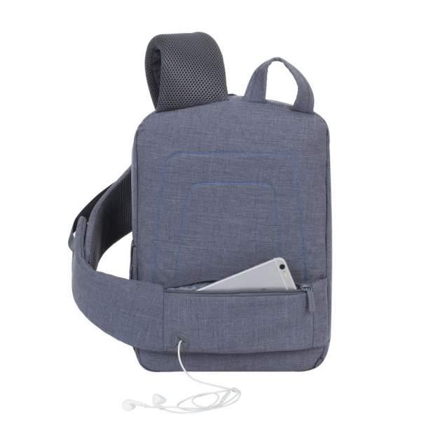 "Рюкзак для ноутбука RIVACASE 7529 серый 13,3"""