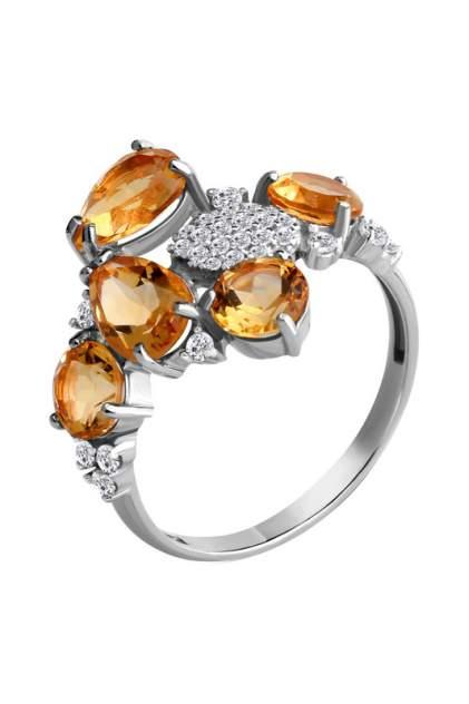 Кольцо женское Aquamarine 6905306А.5 р.19.5