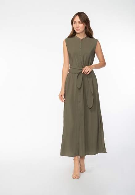 Платье женское Modis M201W00539O763 зеленое 42