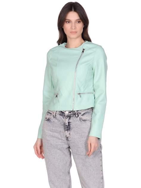 Куртка женская Modis M201W005811ACW зеленая 48