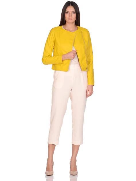 Куртка женская Modis M201W00581O534 желтая 46