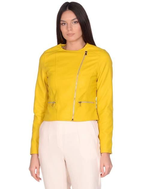 Куртка женская Modis M201W00581O534 желтая 48